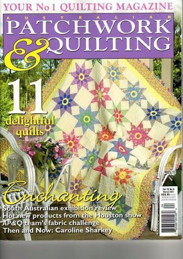 Patchwork & quilting 2007 -no series quilts..