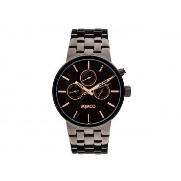 SPORTIVO gunmetal and rose gold watch by Mimco