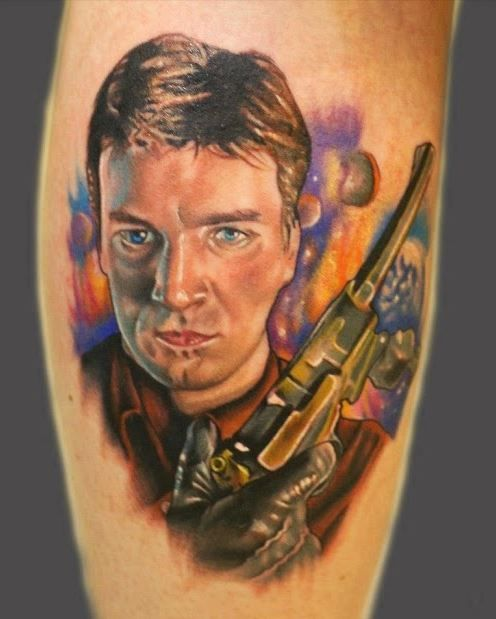 Malcolm reynolds tattoo inked pinterest tattoos and for Nas malcolm x tattoo