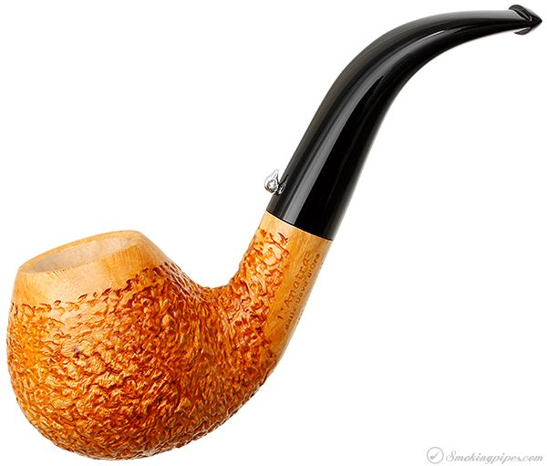 L'Anatra Rusticated Bent Apple Pipes at Smoking Pipes .com