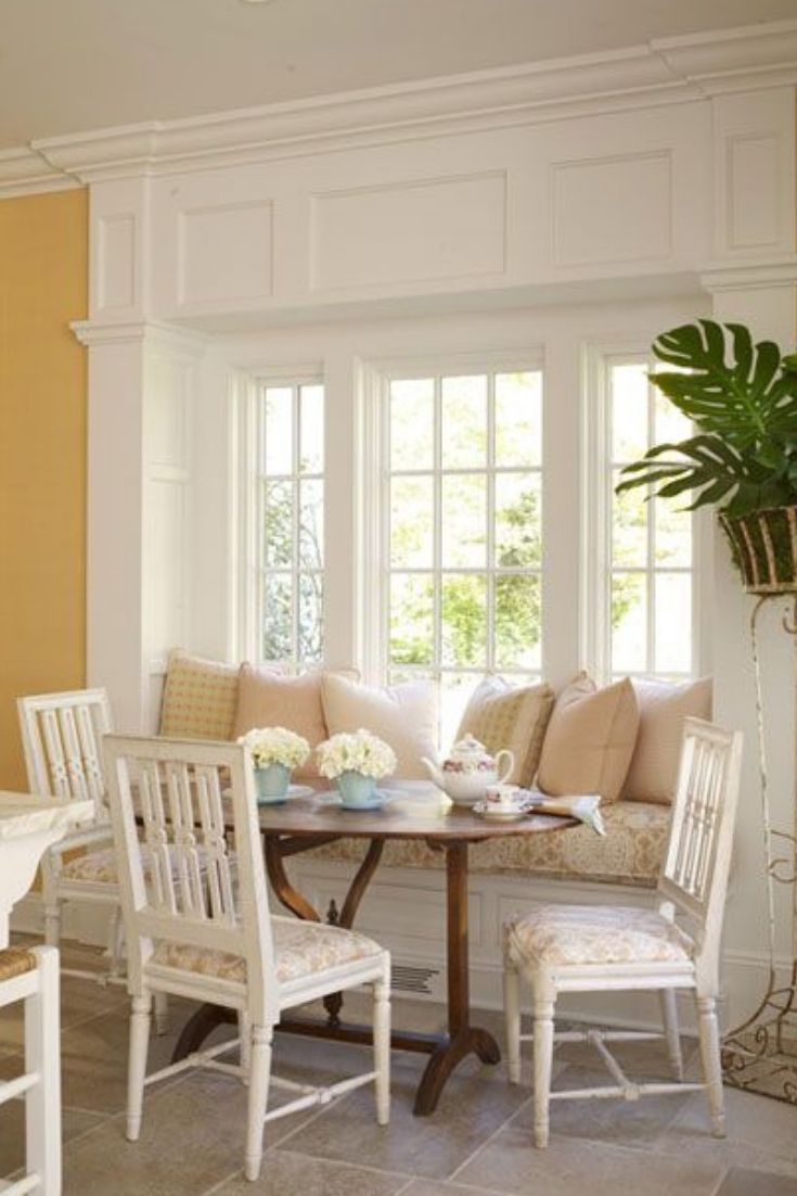Pin Auf Diy Breakfast Nook Ideas