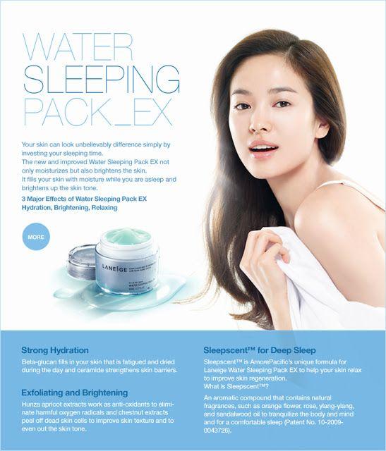 Laneige Sleeping Pack Ex Mask Ad