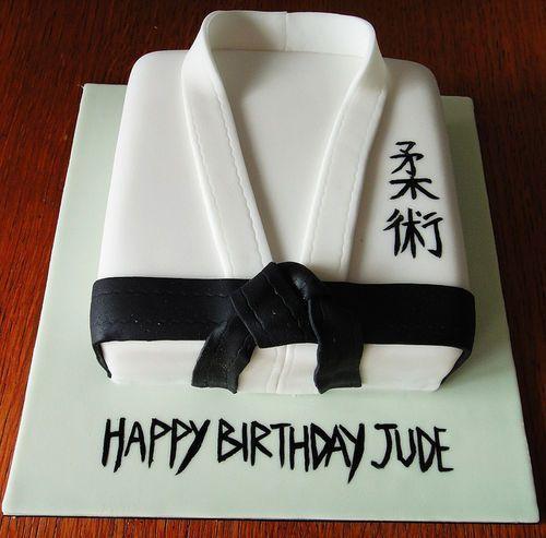 Открытка для тренера по дзюдо с днем рождения, открытки для