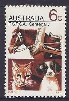 RSPCA Centenary Australia, 1971
