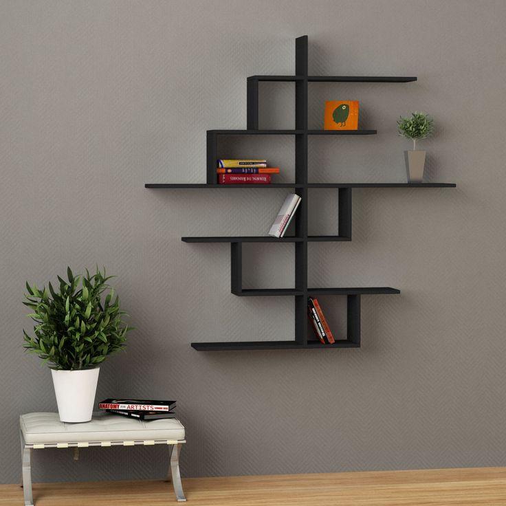 Pdf Tv Stand Wall Design Plans Diy Free Decorative Wood: 2722 Best Ideas About Unique Shelving On Pinterest