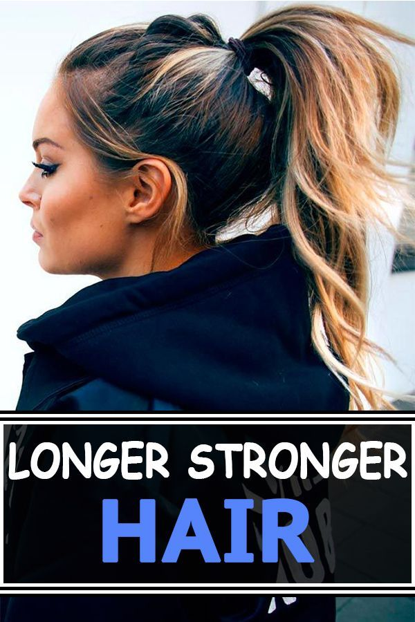 Simple way to get longer, stronger hair this fall