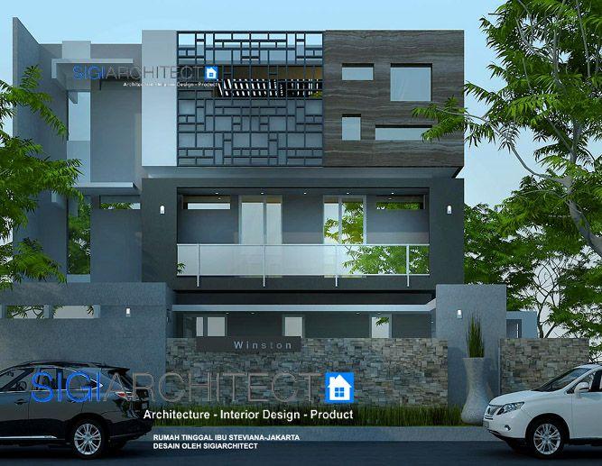 box house model rumah 3 lantai hook_rumah modern