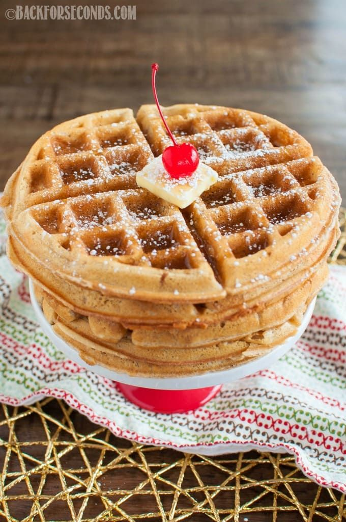The BEST Homemade Waffles these are the best! Made 5/27/17