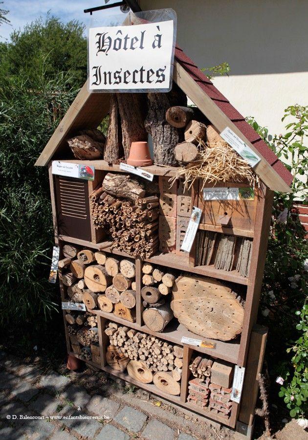 260 best images about insect hotels on pinterest. Black Bedroom Furniture Sets. Home Design Ideas