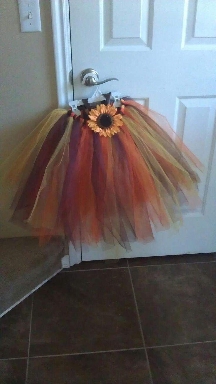 Halloween Scarecrow Tutu Costume
