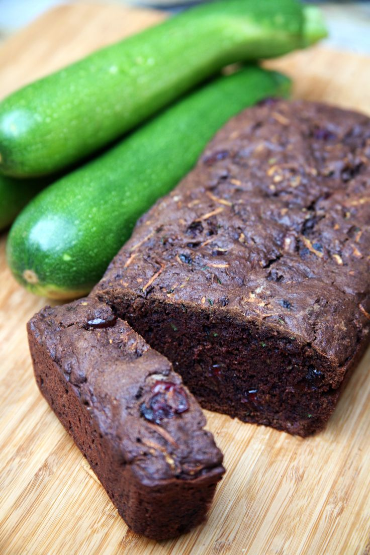 This zucchini bread tastes like a brownie! Just another way to get some veggies into your life.