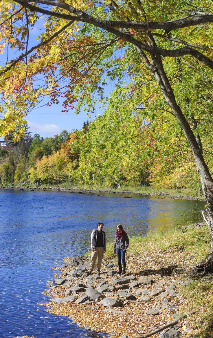 L'automne au Nouveau-Brunswick, Canada   Route panoramique de la vallée