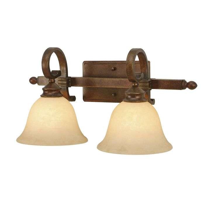 check out the golden lighting rockefeller cb 2 lights bathroom vanity light in champagne bronze