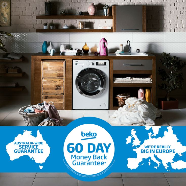 Take advantage of our 60 Day Money Back Guarantee* when you purchase eligible Beko appliances from 01/07/2017 to 31/12/2017. Simply register your new Beko product within 14 days of purchase and use the appliance for a minimum of 30 days. If after this 30 day period you are not satisfied with your product, you can return your appliance and claim a refund. For more information and to register your Beko appliance visit our website.