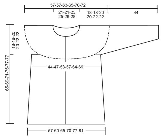 """Veste ajourée DROPS au crochet, avec empiècement rond, crochetée de haut en bas (top down), en """"Cotton Light"""". Du S au XXXL. ~ DROPS Design"""