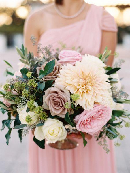 Les bouquets de mariée avec des fleurs sauvages 2017 les plus canons Image: 2