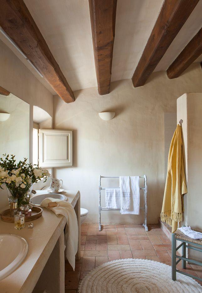 Bagno Stile Rustico 20 Idee Per Un Bellissimo Bagno Rustico Arredamento D Interni Arredamento Arredamento Casa