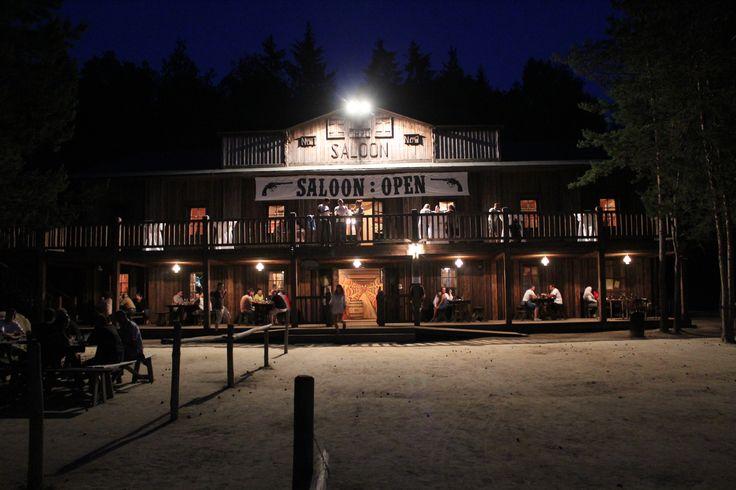 Westernové městečko Saloon 1870