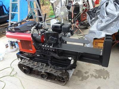 エンジン薪割り機のお試しレンタル 趣味工作の便利屋:あなたの困っているものづくり・試作を応援します