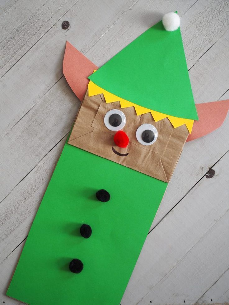Christmas Paper Bag Puppets Amp A New Book Christmas