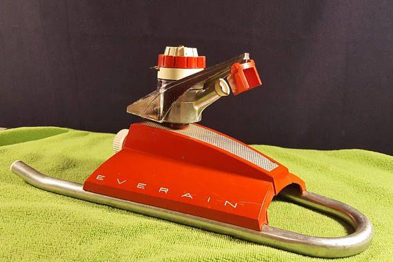 Rare Vintage Atomic Everain Pulsating Lawn Sprinkler 1950s