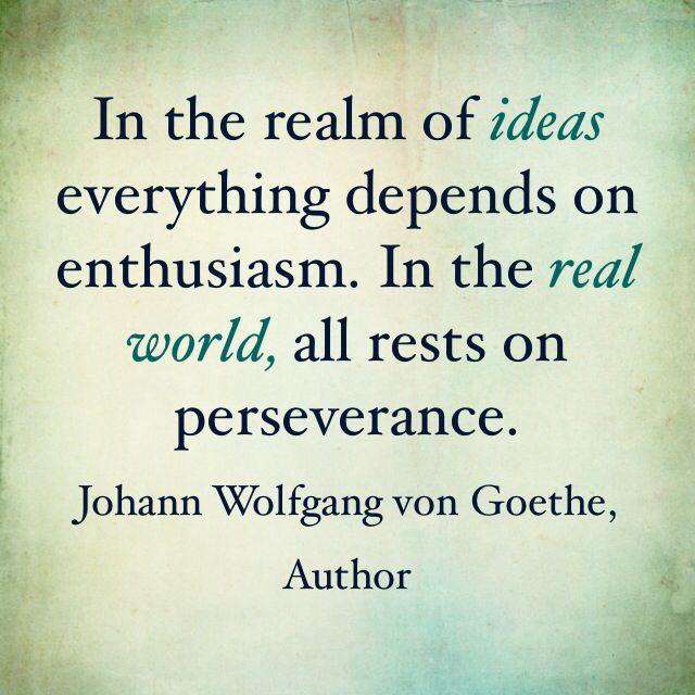 Perseverance And Consistency