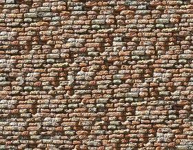Textures   -   ARCHITECTURE   -   BRICKS   -   Damaged bricks  - Damaged bricks texture seamless 00103 (seamless)