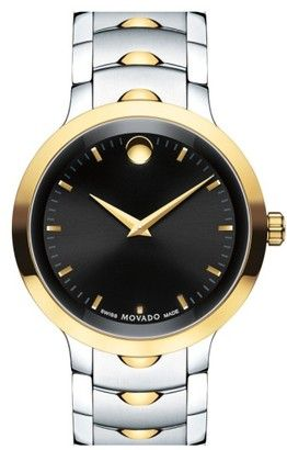 Movado 'Luno' Bracelet Watch 40Mm #watches #womens