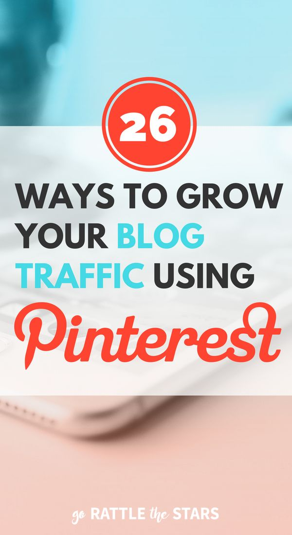 The Ultimate Pinterest Checklist: 26 ways to grow your traffic using Pinterest.   Social Media   Blogging Tips   Creative Business