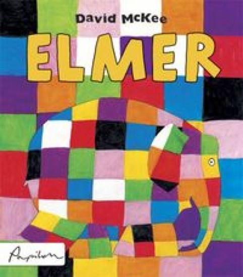 Elmer - kolorowy słoń