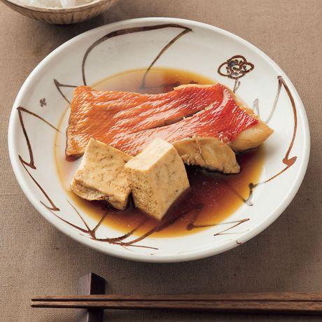 白身魚の煮つけ   吉岡英尋さんの煮魚の料理レシピ   プロの簡単料理レシピはレタスクラブネット