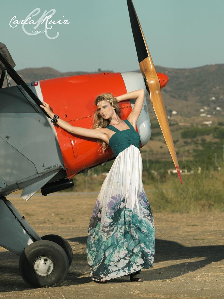 Vestido de Fiesta de Carla Ruiz 2012 - Modelo 86119