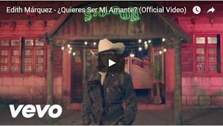 ♫♪♫♪♫♪  Top Music  ♫♪♫♪♫♪: Edith Márquez   ¿Quieres Ser Mi Amante (Official V...