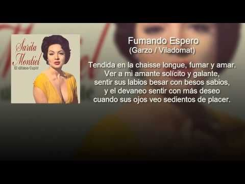 "Sara Montiel - Fumando Espero - Del Film ""El Último Cuplé"" (con letra - lyrics video) - YouTube"