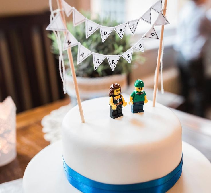 Anyone else noticed how popular LEGO's on wedding cakes has gotten lately. I think it's cool.  #wedding #leedstownhallwedding #legoweddingcaketopper #pureapertureuk