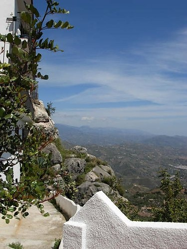 "Comares, beautiful ""Moorish"" village in the Axarquia...  http://www.andalusie-zeezicht.nl/andalusie/la-axarquia"