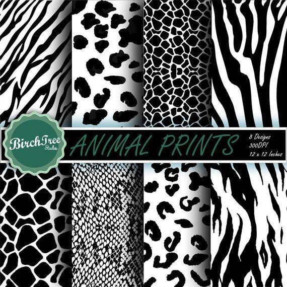 Animal Skin Clipart Animal Print Pattern Giraffe Leopard Etsy Animal Prints Pattern Print Patterns Clip Art