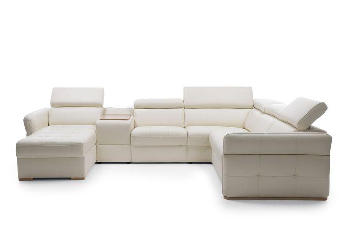 Tak duży, że wypoczniesz na nim z powodzeniem ze swoimi najbliższymi i nikt nie będzie sobie przeszkadzać. System modułowy Massimo to wiele różnych możliwości konfiguracji wymarzonego mebla. Sprawdź. #GalaCollezione #Massimo #inspiracje #inspiration #dosalonu #interiordesign #design #cornersofa #furniture