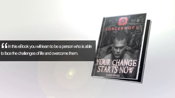 Change Your Life With This eBook!