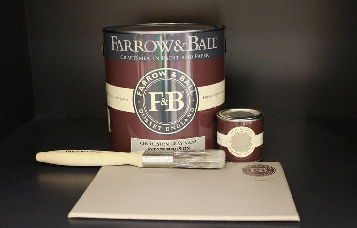 Charleston Gray No. 243 by Farrow&Ball!