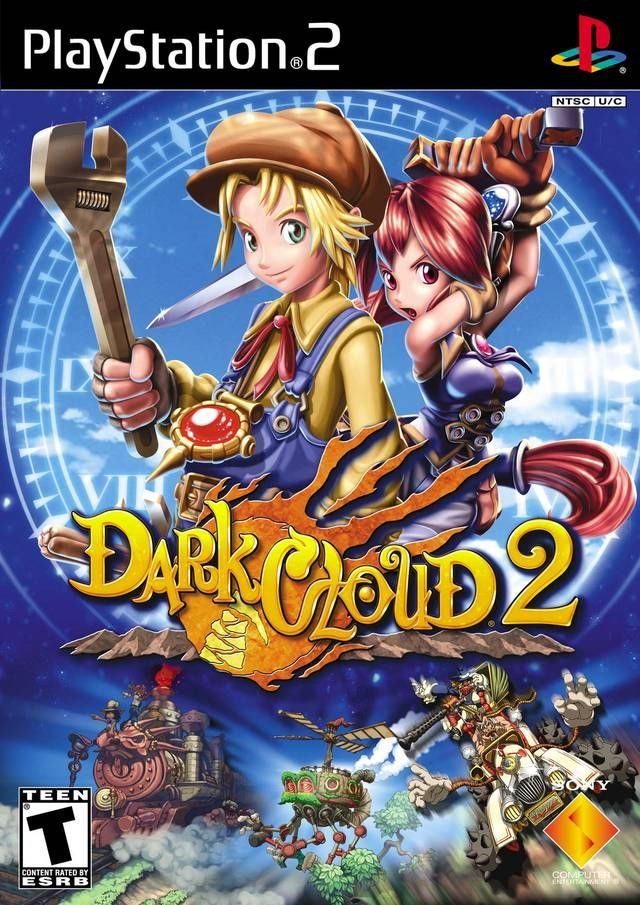 Dark Cloud 2 Sony Playstation 2 Game  Can Sony please bring this to the Playstation store!
