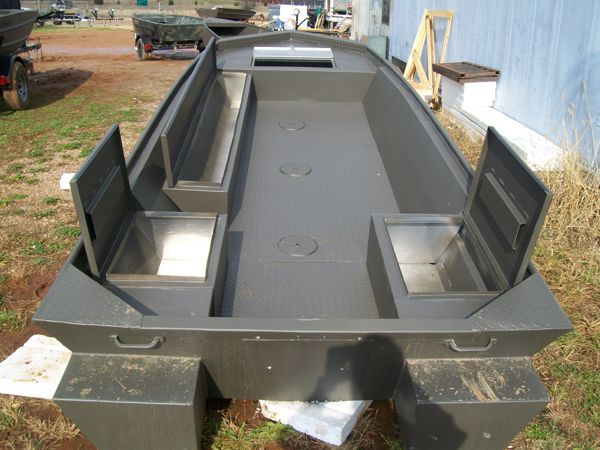 Jon Boat Storage Boxes