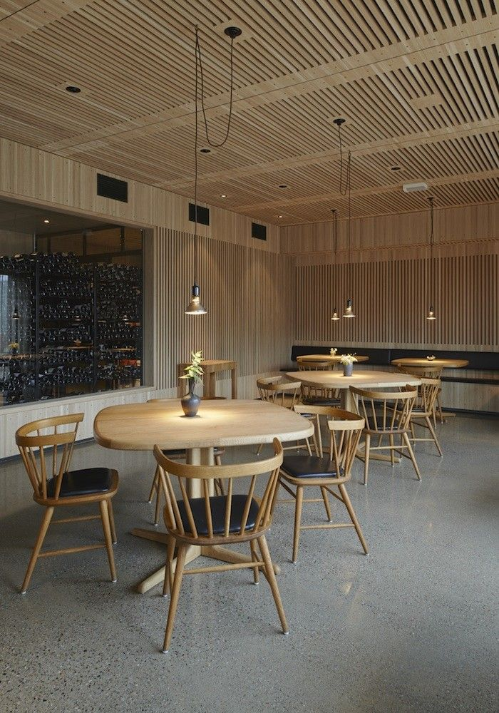 Oaxen Restaurant in Stockholm. architect Mats Fahlander, interior designer/architect Agneta Pettersson, and general contractor Einar Mattsson