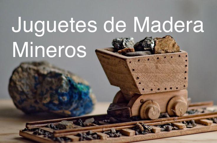 Video de Juguetes de Madera mineros artesanales hechos por el Pelao Rojas.