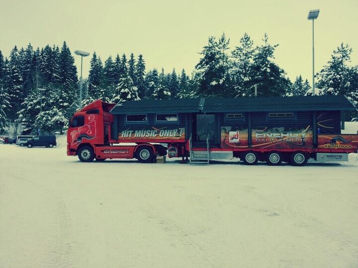 Sauna truck