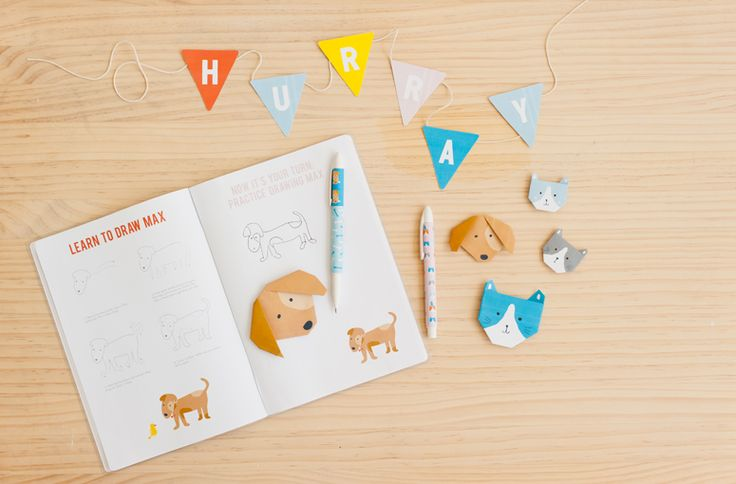 Learn how to draw Max here. Download the instructions, print then simply follow the easy steps. From the super cute Maja & Max Activity Book.