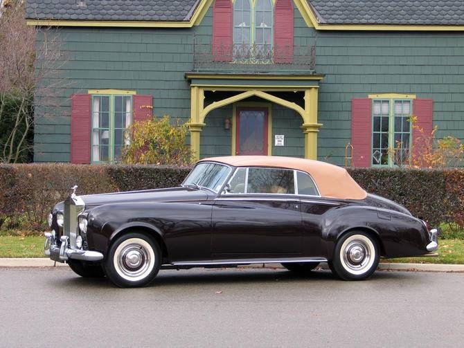 1963 Rolls-Royce Silver Cloud III Convertible