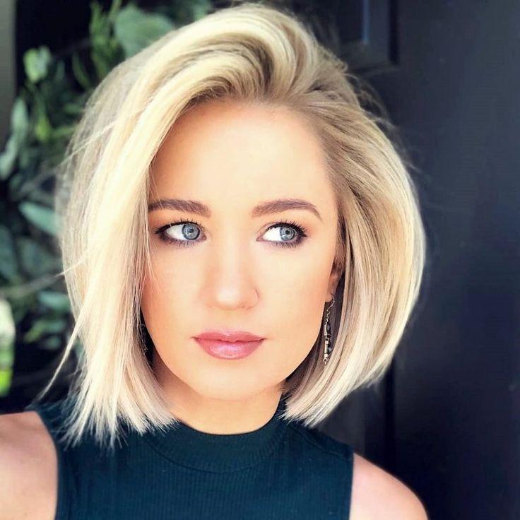Frisuren blond bob 2020