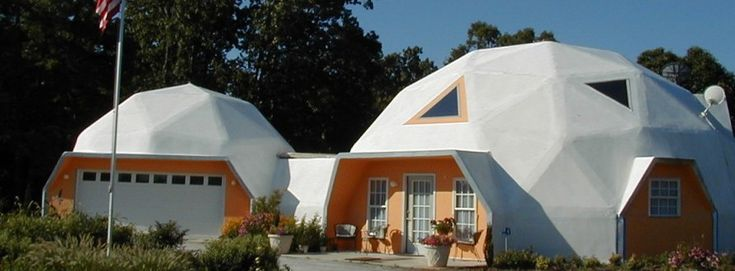 For over 39 years American Ingenuity has been manufacturing Geodesic dome home kits with prefab panels. 225 mph wind & F4 tornado warranty.