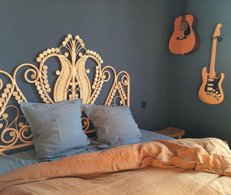 Tête de lit Rotin Paon via Goodmoods